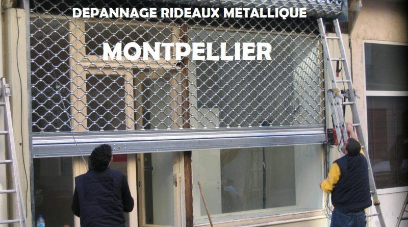 Depannage rideau metallique Montpellier
